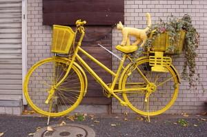 自転車 ポケモン ととら totora 熊木富男 黄色いネコ