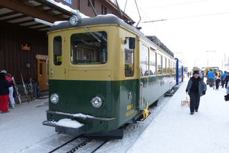 スイスユングフラウ鉄道