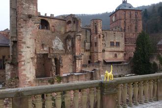 ドイツ ハイデルべルク城
