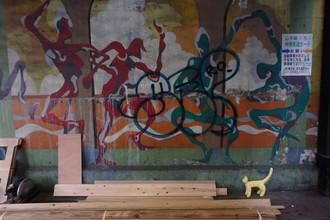 五反田の壁画アート