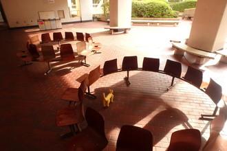 青学のキャンパス