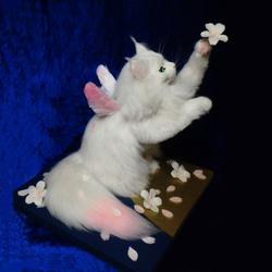桜花 ロンドン ディスカバリー 桜 熊木早苗 ミメット ワークショップ 1day 白猫 ロングヘア