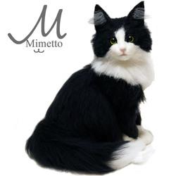 ノルウェージャンフォレストキャット ミユ しろくろ はちわれ 熊木早苗 ミメット 猫 うちのこそっくり 子猫 のサムネイル画像