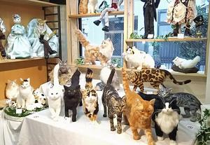錆猫ギャラリー 東京羊毛猫本社 ミメット 乃澤きょうこ 彷徨羽猫 ルーファス 濱屋呼猫 にゃま恭子 ちゃちゃきなな