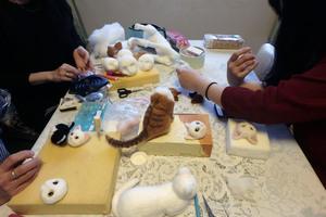 羊毛猫人形教室 体験教室