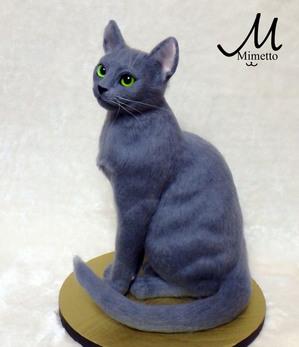 ロシアンブルー 猫 タイ王族 イタリア ルネサンス