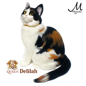 ディライラ delilah freddie queen 羊毛フェルト 熊木早苗 ミメット クイーン フレディ 愛猫 家の猫そっくり